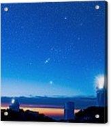 Kitt Peak National Observatory At Night Acrylic Print