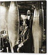 Konstantin Tsiolkovsky, Rocket Pioneer Acrylic Print