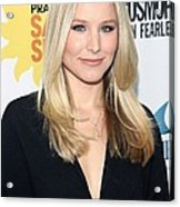 Kristen Bell At Arrivals For Cosmos Acrylic Print