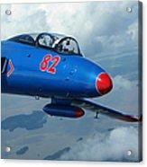 L-29 Delfin Standard Jet Trainer Acrylic Print
