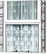 Lace Curtains Acrylic Print