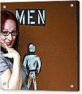 Ladies' Men's Acrylic Print