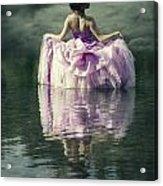 Lady In The Lake Acrylic Print