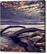 Lake Neatahwanta Acrylic Print by Everet Regal