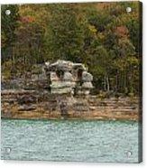 Lake Superior Pictured Rocks 49 Acrylic Print