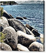 Lake Tahoe Vista Acrylic Print