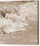 Lake Waves Acrylic Print