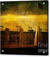 Lambeau Field Acrylic Print by Joel Witmeyer