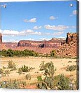 Land Of Many Canyons Acrylic Print
