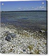 Leelanau Michigan Beach Acrylic Print