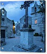 Les Baux Iron Cross Acrylic Print