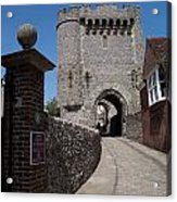Lewes Castle Acrylic Print