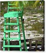Lifeguard Chair Acrylic Print