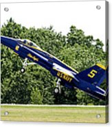 Lift Off Acrylic Print by Greg Fortier