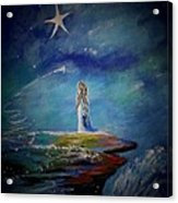 Little Wishes By The Sea Acrylic Print