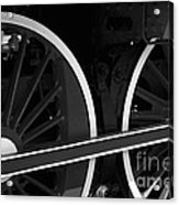 Locomotive Wheels Acrylic Print