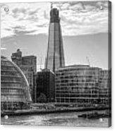 London Assembly and Shard Acrylic Print