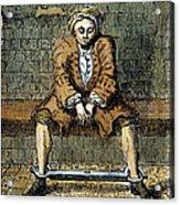 London: Debtors Prison Acrylic Print