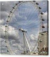 London Skyline Edf Eye  Acrylic Print