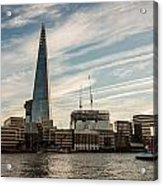 London Skyline Sunset Acrylic Print