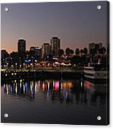 Long Beach Harbor Acrylic Print
