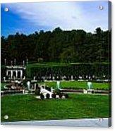 Longwood Gardens Fountain Garden Acrylic Print
