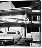 Lorraine Hotel Site Of The Murder Of Martin Luther King Now The National Civil Rights Museum Memphis Acrylic Print by Joe Fox
