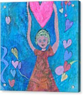 Love From Above Acrylic Print