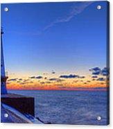 Ludington Michigan Lighthouse Acrylic Print