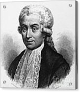 Luigi Galvani, Italian Physician Acrylic Print