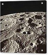 Lunar Surface Acrylic Print