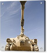 M109 Paladin, A Self-propelled 155mm Acrylic Print