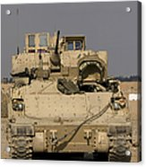 M2m3 Bradley Fighting Vehicle Acrylic Print
