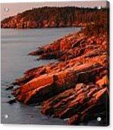 Maine Granite Coast Acrylic Print