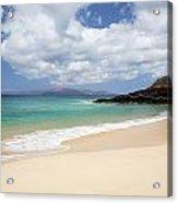 Makena Beach Acrylic Print
