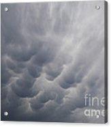 Mammatiform Clouds Acrylic Print