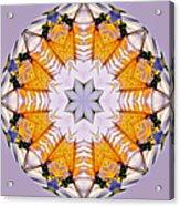 Mandala Of Love Acrylic Print