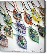 Marano Jewelry Acrylic Print