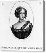 Marie-ang�lique De Rousille Acrylic Print
