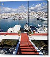 Marina In Puerto Banus Acrylic Print