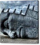 Maritime Memorial Cardiff Bay Acrylic Print