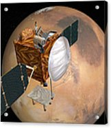Mars Telecommunications Orbiter Acrylic Print