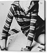 Mary Quant, British Mod Fashion Acrylic Print