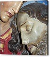 Mary Tears Acrylic Print