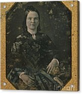 Mary Todd Lincoln, First Lady Acrylic Print by Photo Researchers