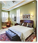 Master Bedroom Acrylic Print