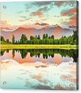 Matheson Lake Acrylic Print by MotHaiBaPhoto Prints
