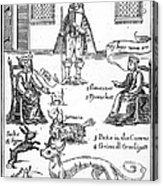 Matthew Hopkins (d. 1647) Acrylic Print by Granger