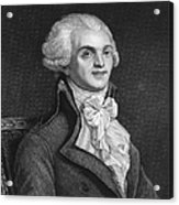 Maximilien Robespierre Acrylic Print