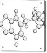 Mdma Drug Molecule Acrylic Print